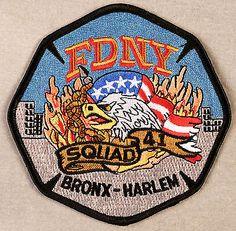 FDNY-Squad-41-Company-Patch