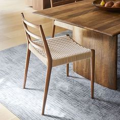 32 Inspiring Dining Chairs For Your Beautiful Dining Room - After buying the best-suited dining table, you are just half way done to complete a phenomenal centerpiece of your dining room furniture. No, of cours. Leather Dining Chairs, Solid Wood Dining Table, Modern Dining Chairs, Upholstered Dining Chairs, Dining Chair Set, Table And Chairs, Modern Wood Chair, Modern Armchair, Bag Chairs