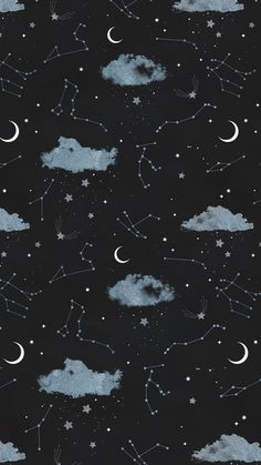 Lock screen wallpaper, galaxy wallpaper iphone, cute i phone wallpaper, simple phone wallpapers Moon And Stars Wallpaper, Night Sky Wallpaper, Star Wallpaper, Cool Wallpaper, Mobile Wallpaper, Wallpaper Ideas, Halloween Wallpaper Desktop, September Wallpaper, Blue Sky Wallpaper