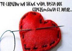 Pégame en tu corazón.