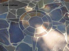 Flag Stone compass detail