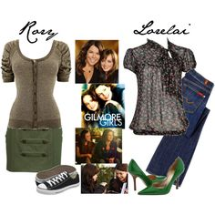 Gilmore Girls by radarlove on Polyvore