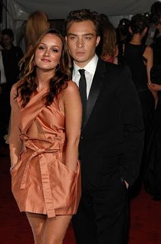 Ed westwick and leighton meester dating in real life