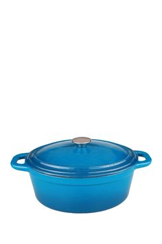 Cast Iron Blue Covered 8 Qt. Casserole Dish is now 66% off. Free Shipping on orders over $100.