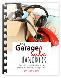 The Garage Sale Handbook is an excellent resource with free printables to keep you on track for a successful garage sale! Yard Sale Signs, Garage Sale Signs, For Sale Sign, Garage Sale Pricing, Gift Exchange Games, Mother's Day Printables, Templates Printable Free, Wall Art Quotes, White Elephant Gifts