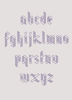 simple // Really nice typeface for a personal project by Julia Agisheva. Lovely clean, geometric feel. #ad