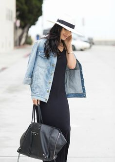 Today I'm sharing my everyday maxi style with you girls. Maxi dresses are definitely a no brainer in my wardrobe. You just throw them on and you're out the door. They're comfy, cute, practical and stylish. This one by FABLETICS is super comfy and has been on heavy rotation lately. I added an oversized jacket, some comfy wedges and my go to panama hat for a no fuss, cute and comfortable everyday look. How cute is the twist back detail?! TaylorColePhotography !fu...