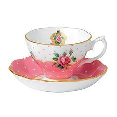 Royal Albert Teetasse mit Untersetzer, 2-teiliges Set in…