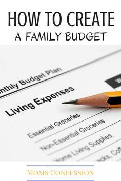 create family budget