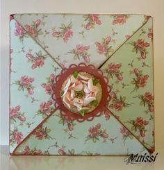Lovely folded cards    Star of David folded card