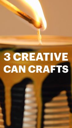 From homemade can-dles to DIY bowling, transform your Heinz Pasta can into something great for your home or garden with these handy tin tips (please reword as appropriate) Tastemade Recipes, Rainy Day Activities For Kids, Diy Presents, Diy Gifts, Candle Craft, Felt Birds, Family Crafts, General Crafts, Art For Kids