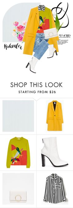 """""""Deco Soup"""" by pattykake ❤ liked on Polyvore featuring Zara, GUESS, Delpozo, Vic Matié and Chicnova Fashion"""