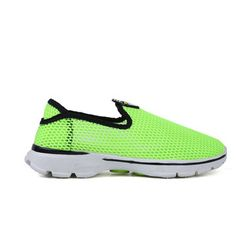 Only US$20.58, buy best  Female Mesh Outdoor Shoes Sneakers Casual Running Slip-on Light Breathable Deodorization Durable sale online store at wholesale price.US/EU warehouse.