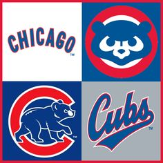 Chicago Cubs American Sports, Chicago Cubs, Olympics, Cakes, Cake Makers, Kuchen, Cake, Pastries, Cookies