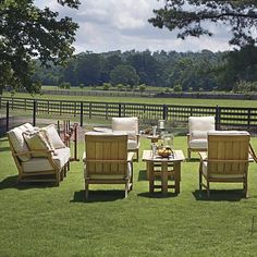 Croquet Teak Collection by Summer Classics