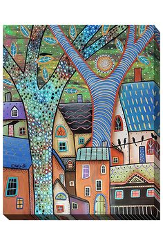 Dwellings, Giclee on Canvas - Beyond the Rack $59.99