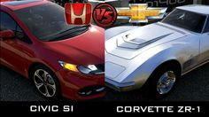 Forza 5 - Honda Civic Si vs Chevrolet Corvette ZR-1 #honda #civic #si #chevrolet #corvette #zr1 #xbox #one #racing #forza5 #gameplay #gaming
