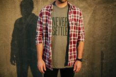 Like the Never Settle T-Shirt \\ Ugmonk » Lookbook 2013