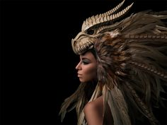 """Dragon"" —  Photographer: Daniel Hager Headpiece: Posh Fairytale Couture Makeup: Rachel Sigmon Model: Antonia Nathalia Retoucher: Edgeworld Retouch"