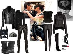 Batman and Catwoman - Fabulous Halloween Costumes For Couples