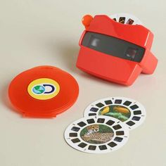 Peer through the lens of this retro View Master for a thrilling blast from the past. While the first view master debuted at the 1939 World's Fair, this version is inspired by the classic model introduced in the '70s. Simply pull the lever to cycle through a reel of stunning 3D images. #ViewMaster #ad #affiliate #RetroToy #VintageDesignToy #70sToy #FavoriteToy