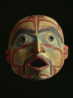 Raven's Many Gifts: Native Art of the Northwest Coast On view April 2014 to May 2015 Native Art, Native American Art, Arte Inuit, Tarot, Art Premier, Masks Art, Indigenous Art, Indian Art, Native Indian
