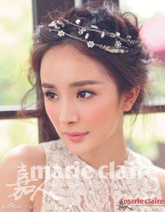 Wedding Dress Photoshoots from Yang Mi   Cfensi #YangMi