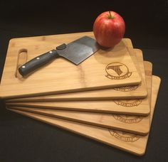 ENGRAVED CUTTING BOARD - HOUSE WARMING GIFT & PERSONALIZED CUSTOM WOOD CUTTING BOARD @ SignatureThings.com  Custom engraved cutting board or cheese board with your choice of design! This professional grade bamboo cutting board makes a great unique gift for any occasion!   #Arts #Crafts #Handmde #Handcrafted #WelcomeSign #Rustic #EntranceSign #NameSign #CuttingBoard #Personlized #Tools #HomeDecor