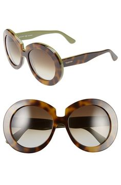 Valentino 54mm Oversized Gradient Sunglasses available at #Nordstrom