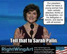 Tell that to Sarah Palin!  He didn't mind all the verbal attacks made by Bill Mahr and others!  Such Hypocratics!!