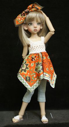 BJD clothes for Kaye Wiggs Layla or other MSD от Demonstrative
