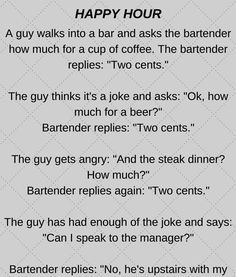 and it was happy hour! view at https://beartales.me/2017/07/15/a-man-walks-into-a-bar-and-it-is-happy-hour/