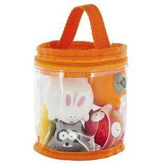 Набор игрушек для купания Babymoov Веселые друзья 6 шт