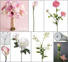 #pink wedding #pink calla lily #afloral http://blog.afloral.com/daily-scoop/pink-calla-lily-peony-wedding-flower-inspiration-board/#.UUG79xxgSSo