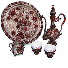 century, Turkish, with corals Corals, 19th Century, Decorative Plates, Instagram