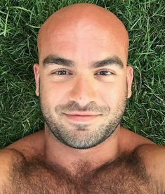 Sexy men with shaved heads
