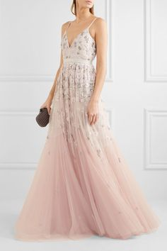 Needle & Thread   Embellished embroidered tulle gown   NET-A-PORTER.COM