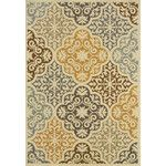 <strong>Colton Gray Indoor/Outdoor Area Rug</strong> by The Conestoga Trading Co.