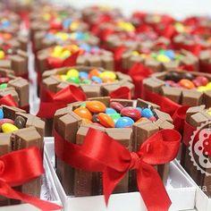 Mini cake kitkat