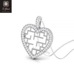KOKANA Personalized Cutom Name Necklace Silver Ladybug Name Pendant for Girls and Man