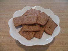 Homemade gram crackers