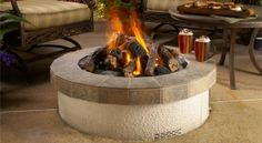 First, gas fire pits often generate a smaller flame. When compared to the flames of wood fire pits, many find the former dull and uninteresting. #gasfirepits #gasfireplace #firepitideas #homefirepit Fire Pit Sphere, Fire Pit Logs, Wood Fire Pit, Rustic Fire Pits, Wood Burning Fire Pit, Diy Fire Pit, Fire Pit Backyard, Outdoor Fire, Outdoor Living