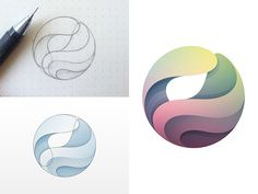 Logo Exploration  by Yoga Perdana #Design Popular #Dribbble #shots