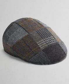 Patchwork Ivy driving hat