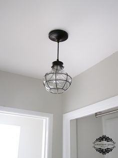 Laundry Light Fixture | Emerson Grey Designs