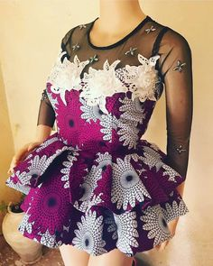 13 Beautiful Ankara Peplum Tops Nigerian Fashion You Choose From and rock yourself to fashion stylish. African Fashion Ankara, Latest African Fashion Dresses, African Print Dresses, African Print Fashion, Africa Fashion, African Dress, Nigerian Fashion, African Prints, African Print Peplum Top