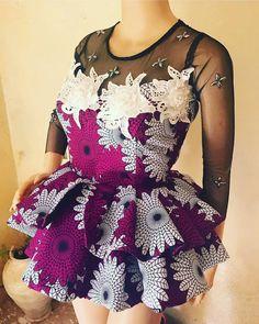13 Beautiful Ankara Peplum Tops Nigerian Fashion You Choose From and rock yourself to fashion stylish. African Fashion Ankara, Latest African Fashion Dresses, African Print Dresses, African Print Fashion, Africa Fashion, African Dress, Nigerian Fashion, African Print Peplum Top, African Prints