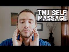 Got TMJ pain? Try this easy myofascial release technique on your jaw. This self-massage should be gentle and pain-free, so take your time and err on the side. Jaw Massage, Reflexology Massage, Self Massage, Jaw Pain, Neck Pain, Jaw Exercises Tmj, Posture Exercises, How To Massage Yourself, Trigger Point Therapy