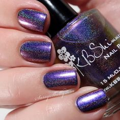 KB Shimmer Winter Collection ~ Myth You Lots multichrome