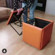 5 Seater Transformation - Famous Last Words Folding Furniture, Smart Furniture, Space Saving Furniture, Home Decor Furniture, Modern Furniture, Furniture Design, Multipurpose Furniture, Multifunctional Furniture, Ikea Furniture